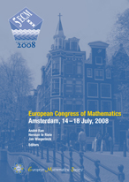European Congress of Mathematics Amsterdam, 14–18 July, 2008