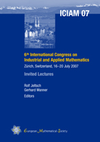 6th International Congress on Industrial and Applied Mathematics Zürich, Switzerland, 16-20 July 2007