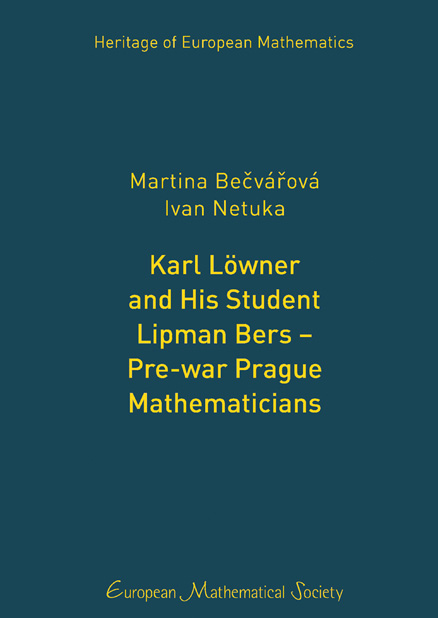 Karl Löwner and His Student Lipman Bers – Pre-war Prague Mathematicians