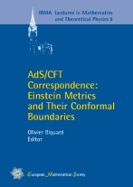 AdS/CFT Correspondence: Einstein Metrics and Their Conformal Boundaries
