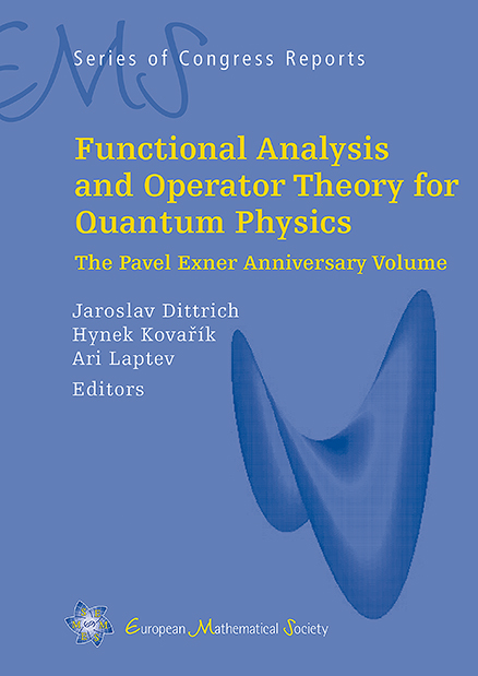 Functional Analysis and Operator Theory for Quantum Physics