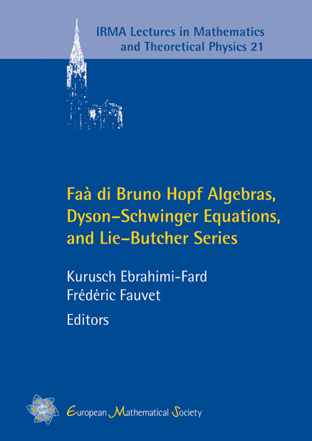 Faà di Bruno Hopf Algebras, Dyson–Schwinger Equations, and Lie–Butcher Series