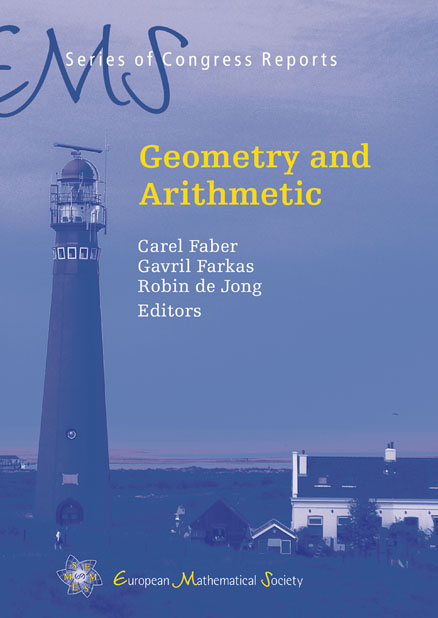Geometry and Arithmetic