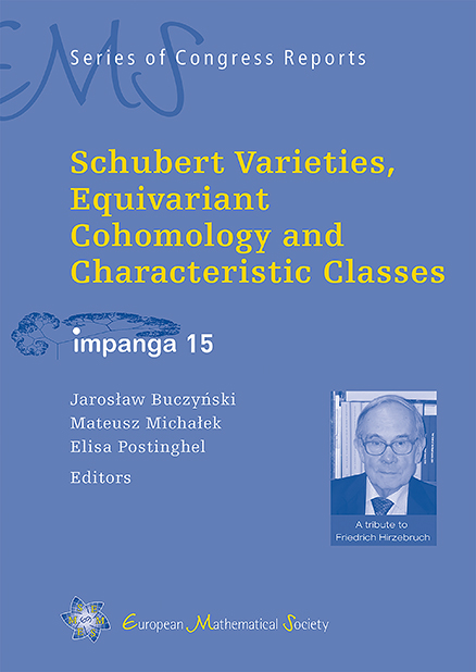 Schubert Varieties, Equivariant Cohomology and Characteristic Classes