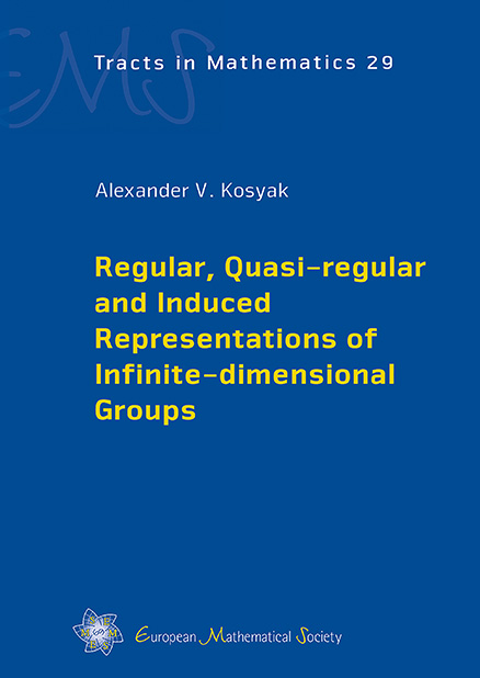 Regular, Quasi-regular and Induced Representations of Infinite-dimensional Groups