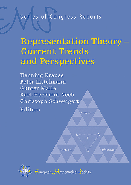 Representation Theory – Current Trends and Perspectives