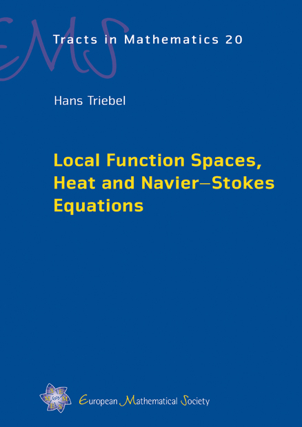 Local Function Spaces, Heat and Navier–Stokes Equations
