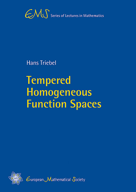 Tempered Homogeneous Function Spaces
